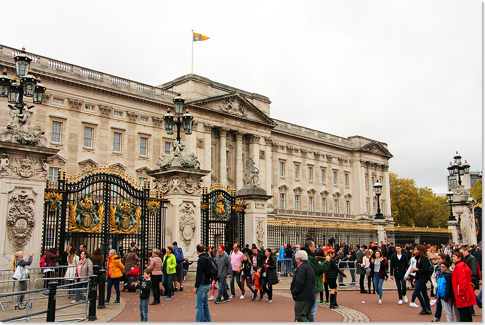 18105 03 London Erster Tag17 Buckingham Palace 2017 Kai Ortel