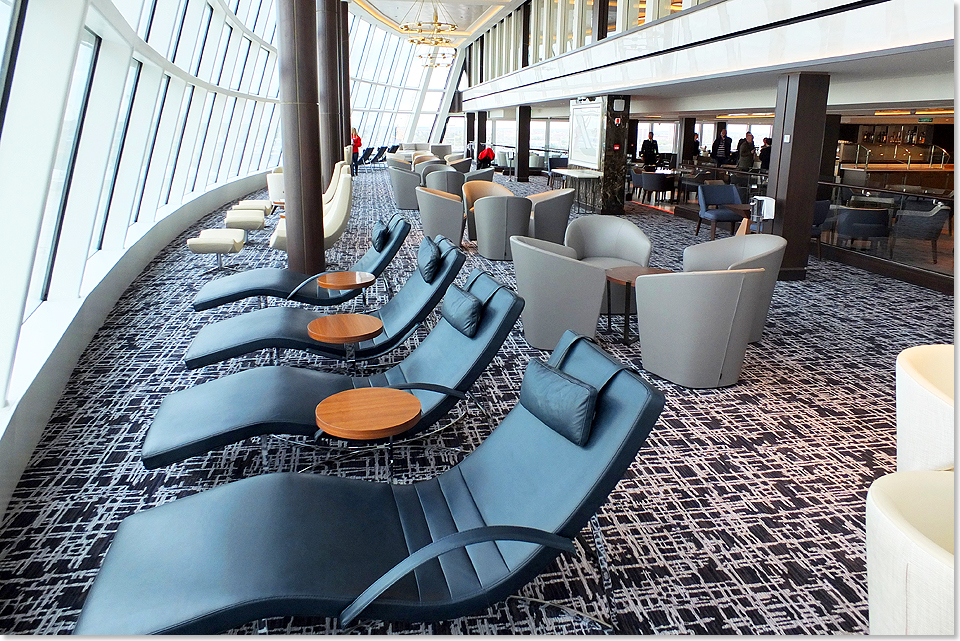 17306 Norwegian Joy 40 Concierge Lounge auf Deck 15 27042017 C Eckardt
