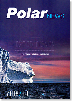 PolarNEWS Expeditionen Erlebnis Antarktis Arktis 2018 19