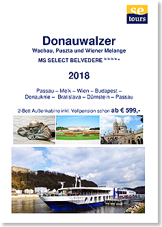 SE Tours mit MS SELECT BELVEDERE Donau 2018