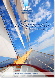 Star Clippers Arrangements 2017