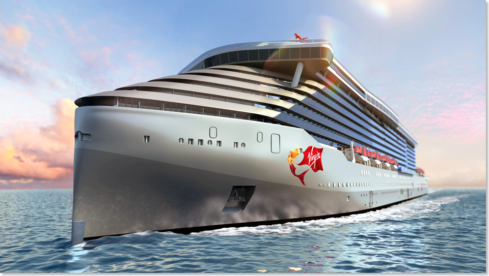18304 Virgin Voyages Ship 1 Front Rendering Virgin Cruises