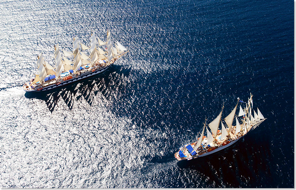 18311 RoyalClipper StarClipper Luftaufnahme Foto Star Clippers