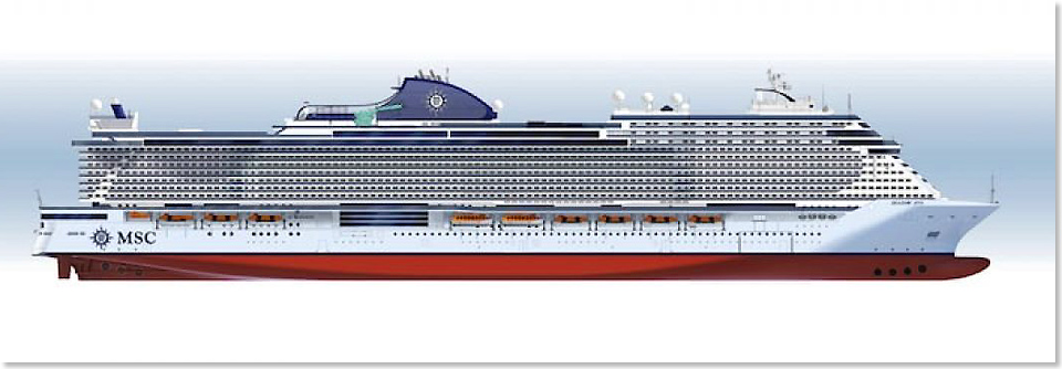 18604 MSC Seashore Rendering MSC Cruises