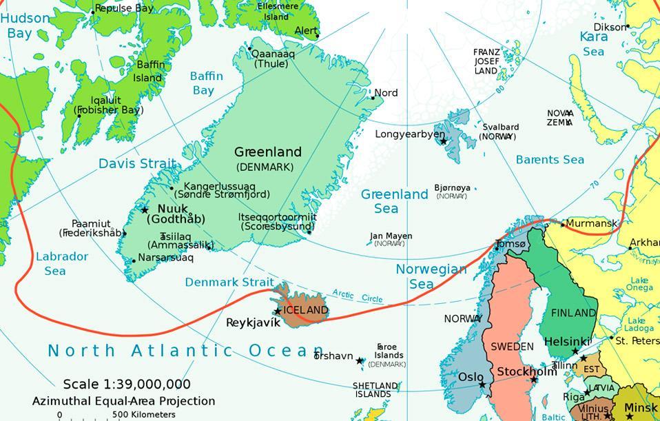 Polarkreis Alaska Karte.Seereisenmagazin Arktiskreuzfahrten Eine Auslese Für Den Sommer 2012